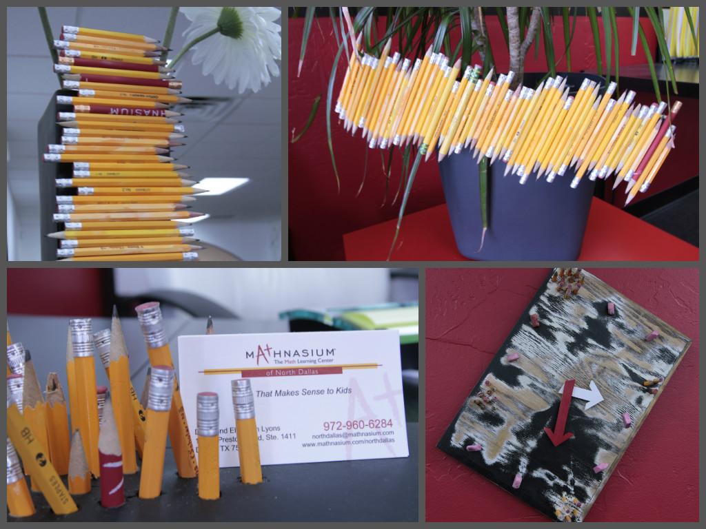 north dallas pencil art collage