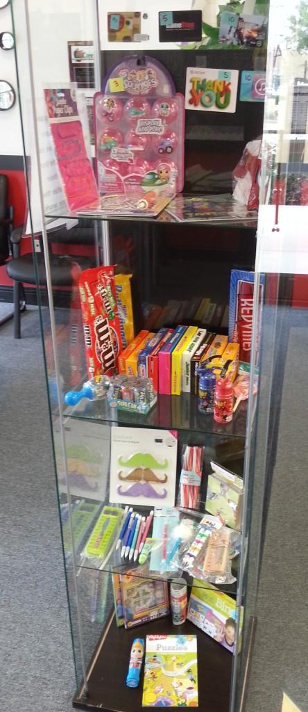 Southlake Rewards Cabinet