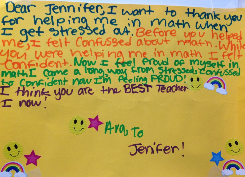 Almaden - Student Thank You June 2015